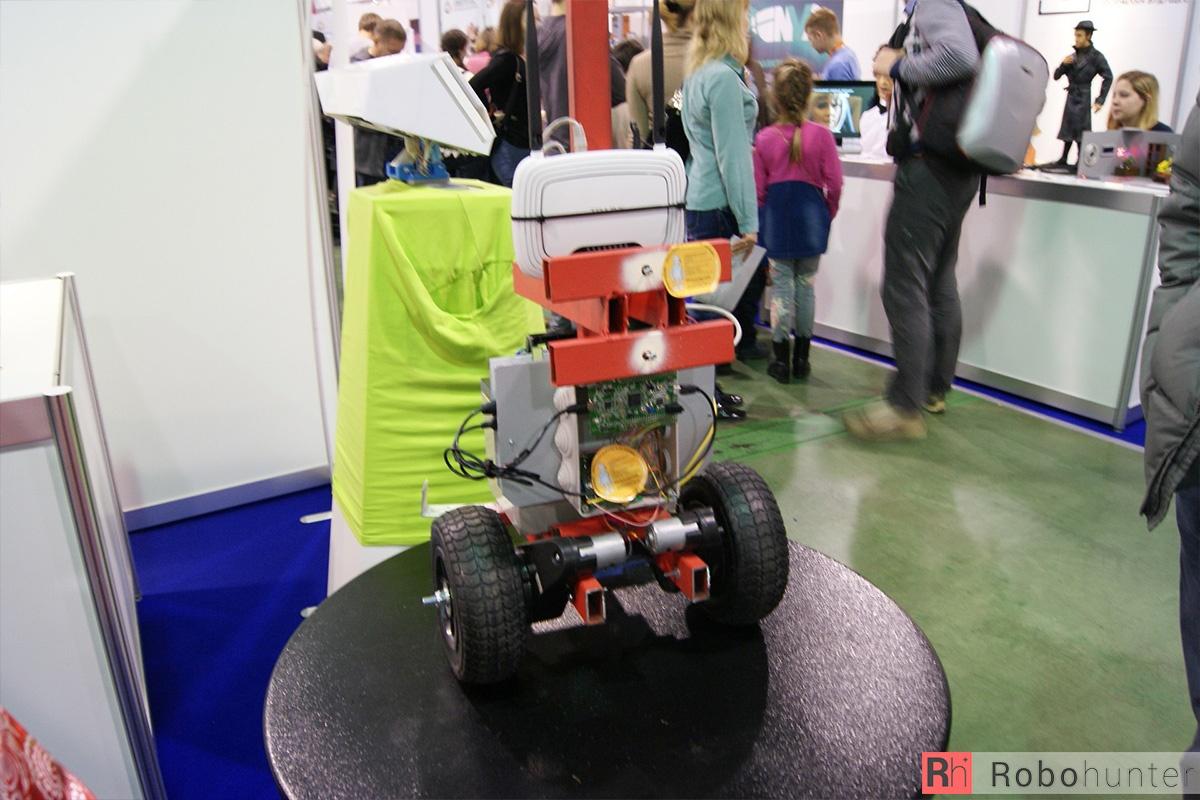 Обзор третьей международной выставки Robotics Expo 2015 в Москве - 39