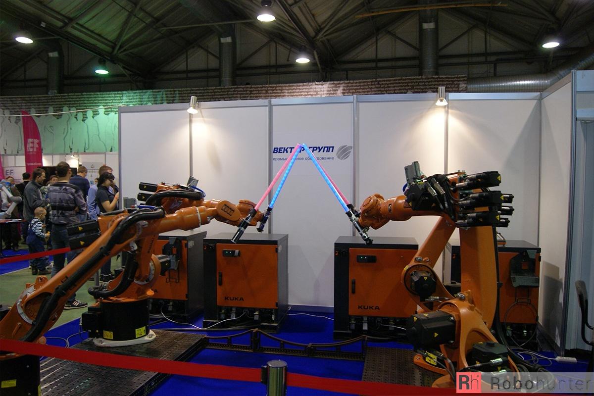Обзор третьей международной выставки Robotics Expo 2015 в Москве - 4