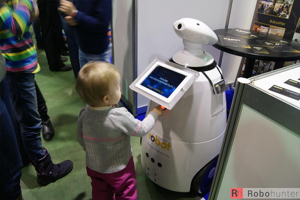 Обзор третьей международной выставки Robotics Expo 2015 в Москве - 40