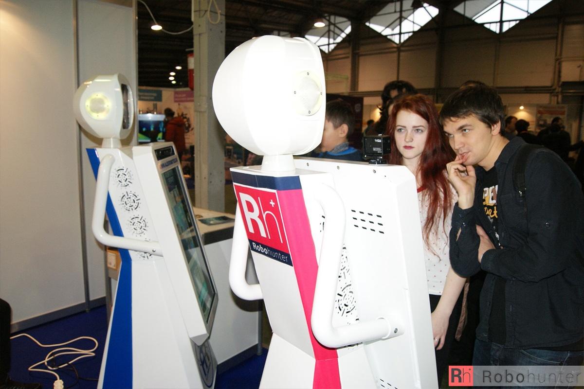 Обзор третьей международной выставки Robotics Expo 2015 в Москве - 42