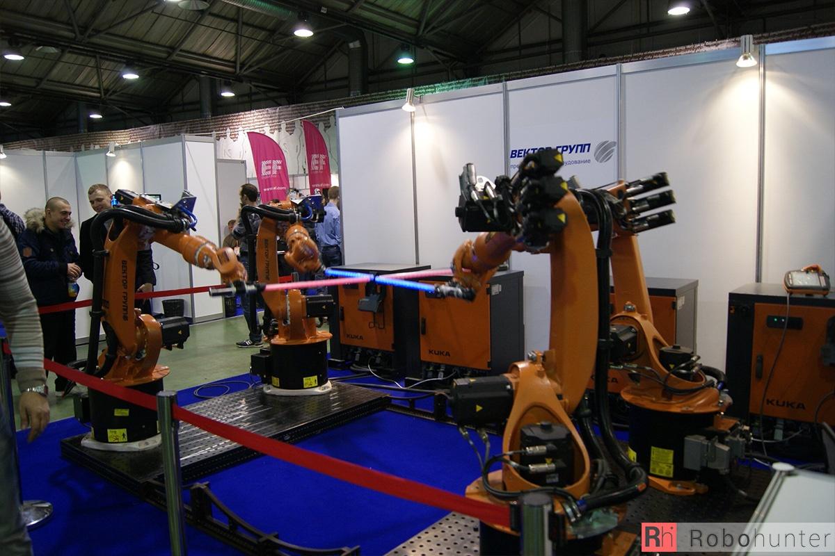 Обзор третьей международной выставки Robotics Expo 2015 в Москве - 5