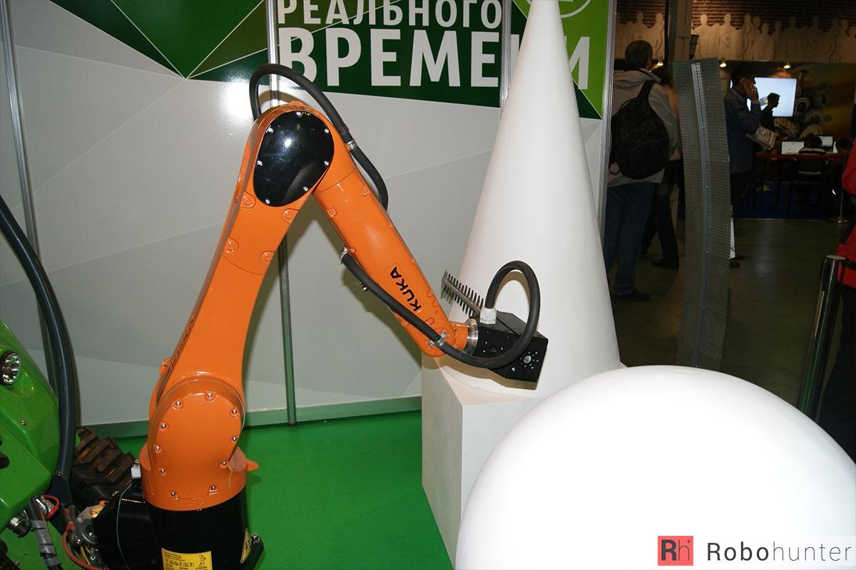 Обзор третьей международной выставки Robotics Expo 2015 в Москве - 7