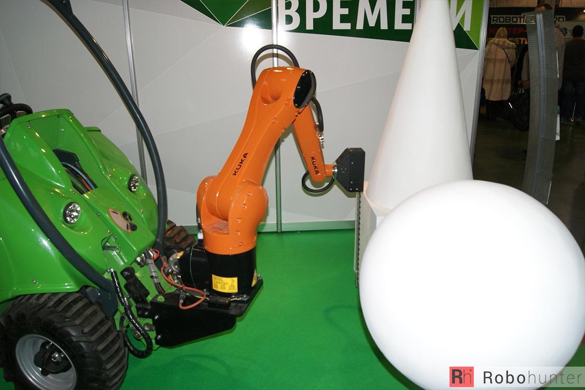 Обзор третьей международной выставки Robotics Expo 2015 в Москве - 8