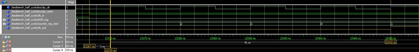 Сдвиг фазы сигнала на VHDL - 3