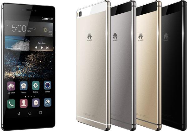Представлен смартфон Huawei P8