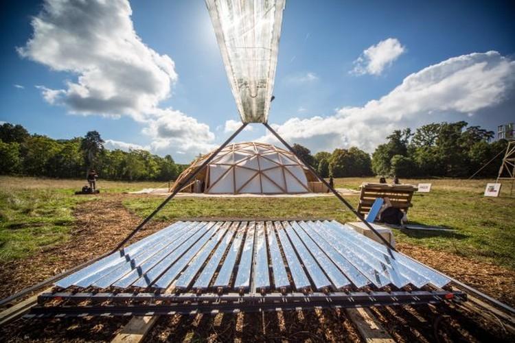 Дешёвый солнечный концентратор и парообразователь на Arduino. Зеркала и пар с температурой до 250°C - 2