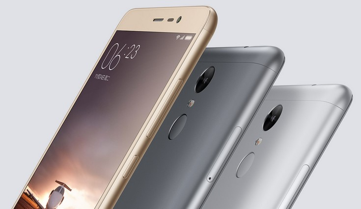 Xiaomi проедставила Redmi Note 3