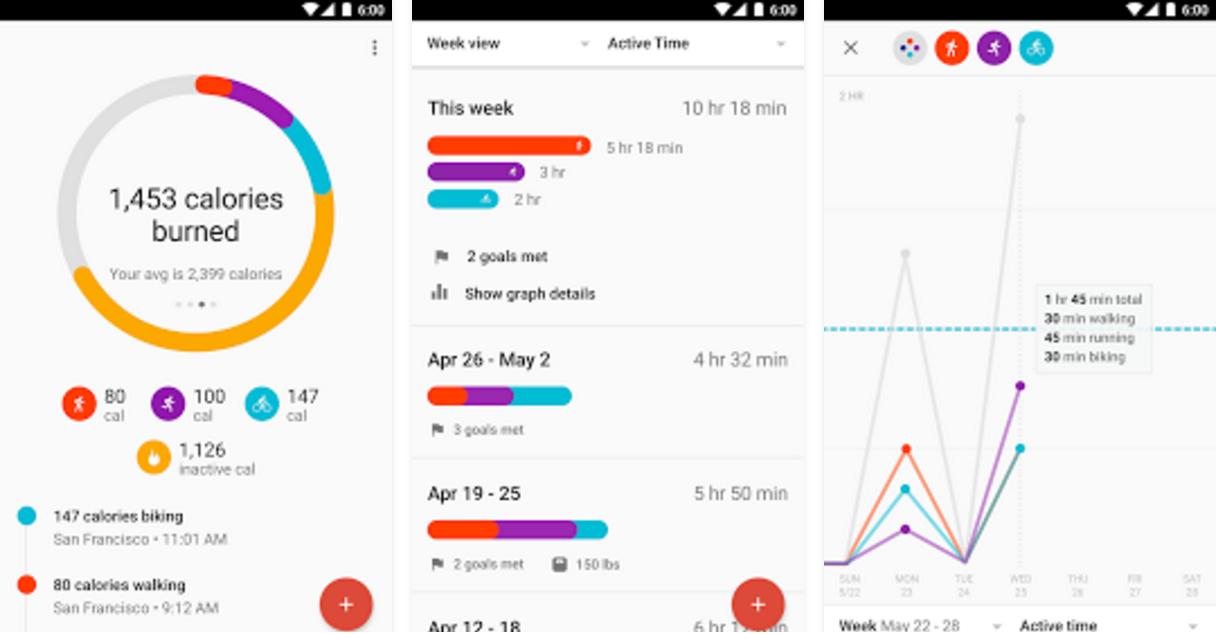 Приложения, которые отправляют статистику в Google Fit - 11