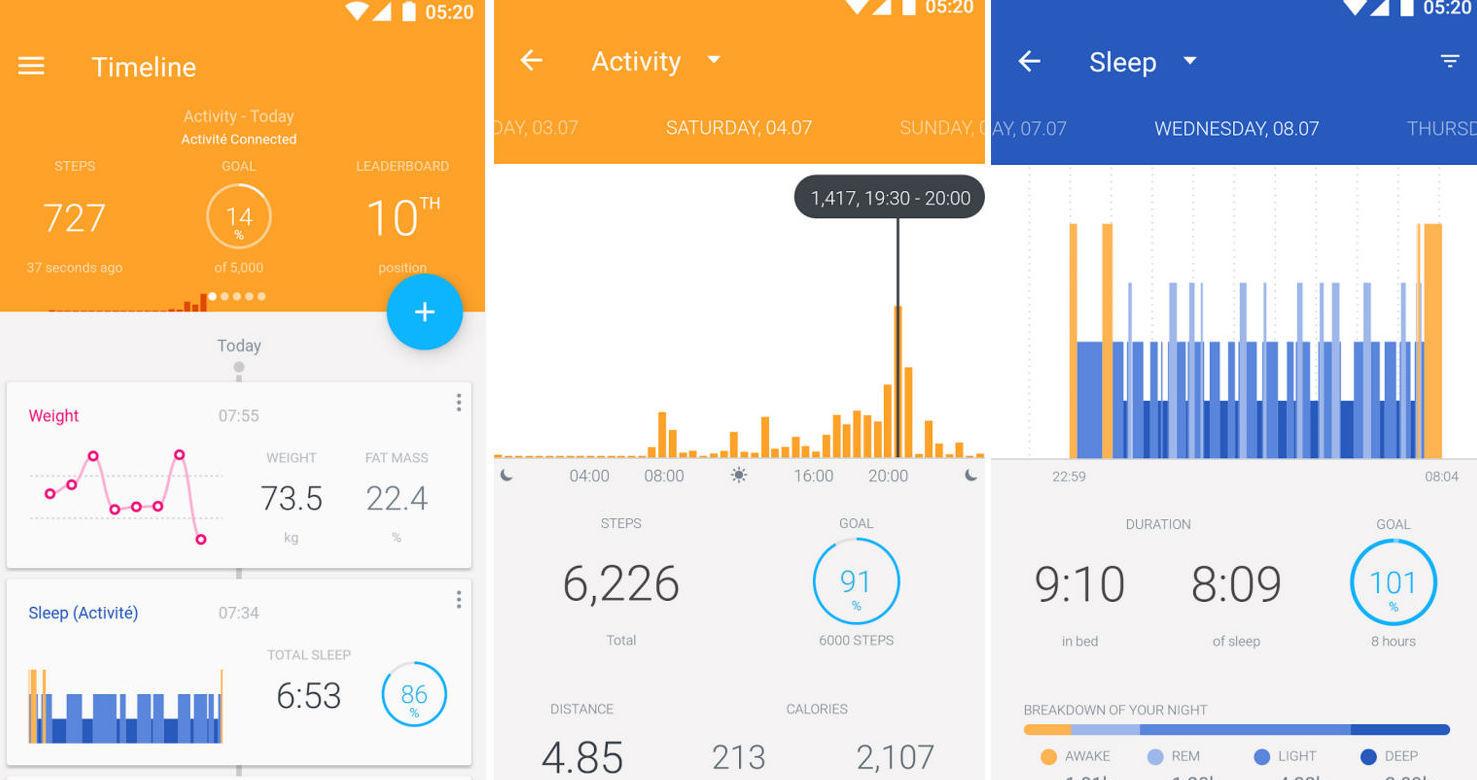 Приложения, которые отправляют статистику в Google Fit - 2