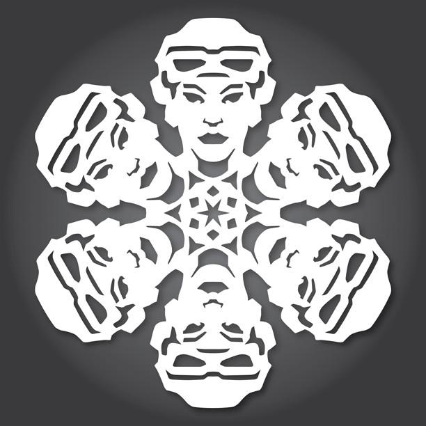 Снежинки в стилистике StarWars своими руками (upd. 2015) - 14