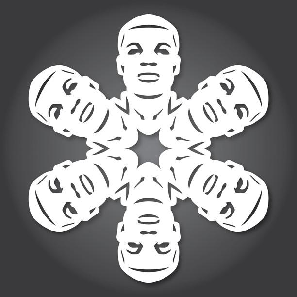 Снежинки в стилистике StarWars своими руками (upd. 2015) - 3
