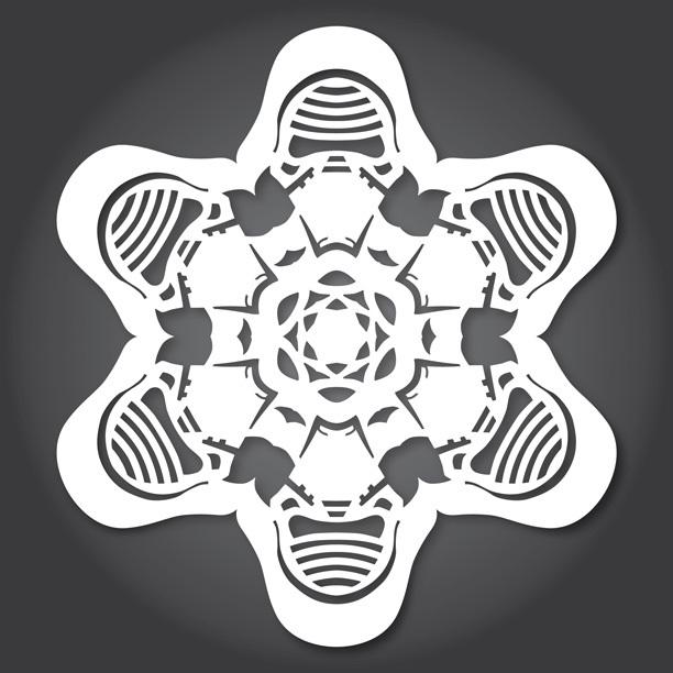 Снежинки в стилистике StarWars своими руками (upd. 2015) - 8