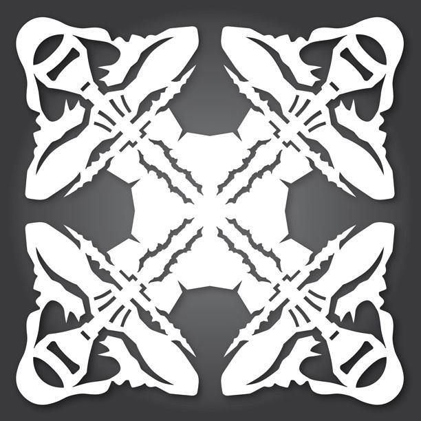 Снежинки в стилистике StarWars своими руками (upd. 2015) - 9