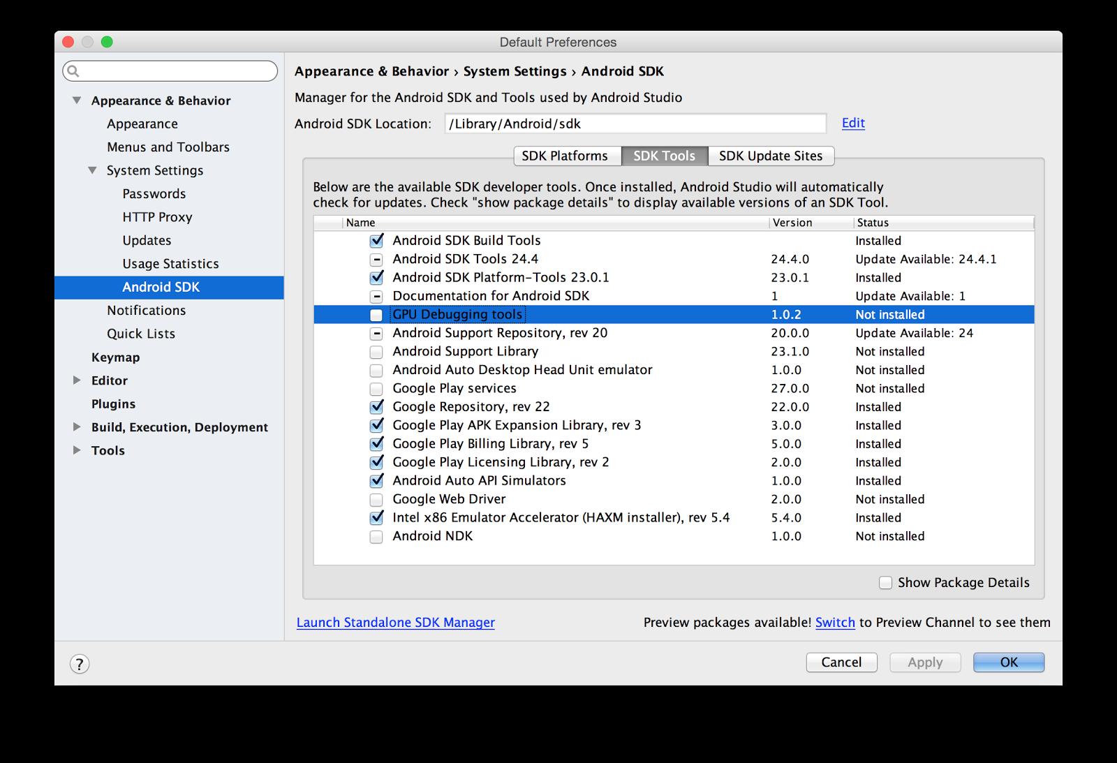 Вышла среда разработки Android Studio 2.0 (preview) - 5