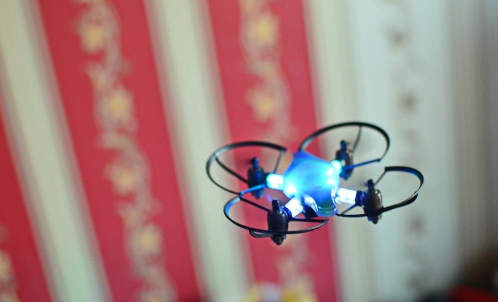 Южнокорейская революция на рынке мини-дронов. Обзор первого в мире боевого дрона — квадрокоптера Byrobot Drone Fighter - 11