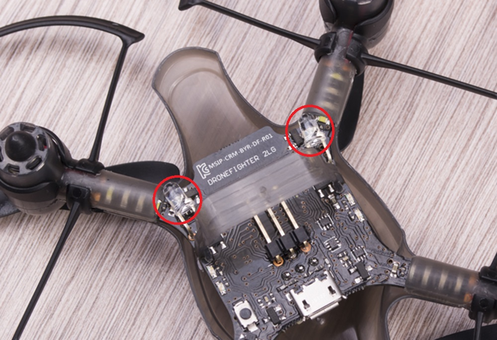 Южнокорейская революция на рынке мини-дронов. Обзор первого в мире боевого дрона — квадрокоптера Byrobot Drone Fighter - 12