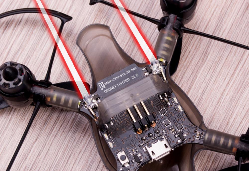 Южнокорейская революция на рынке мини-дронов. Обзор первого в мире боевого дрона — квадрокоптера Byrobot Drone Fighter - 13