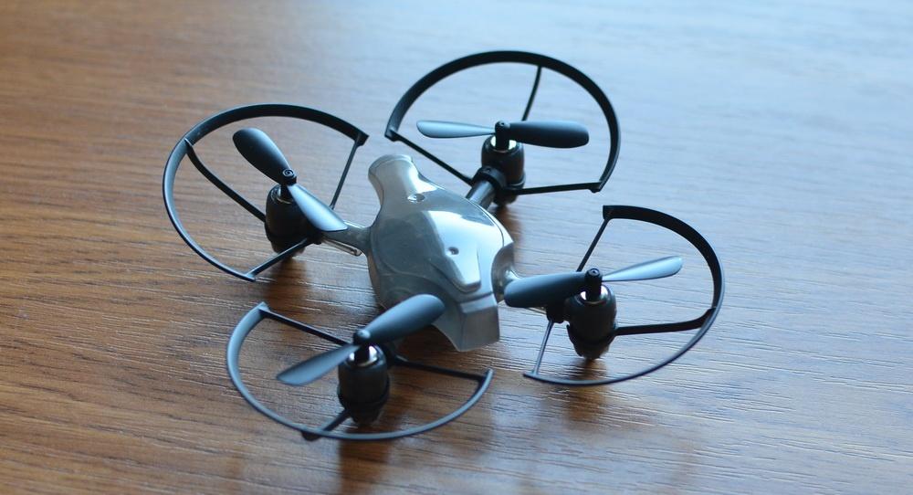 Южнокорейская революция на рынке мини-дронов. Обзор первого в мире боевого дрона — квадрокоптера Byrobot Drone Fighter - 17