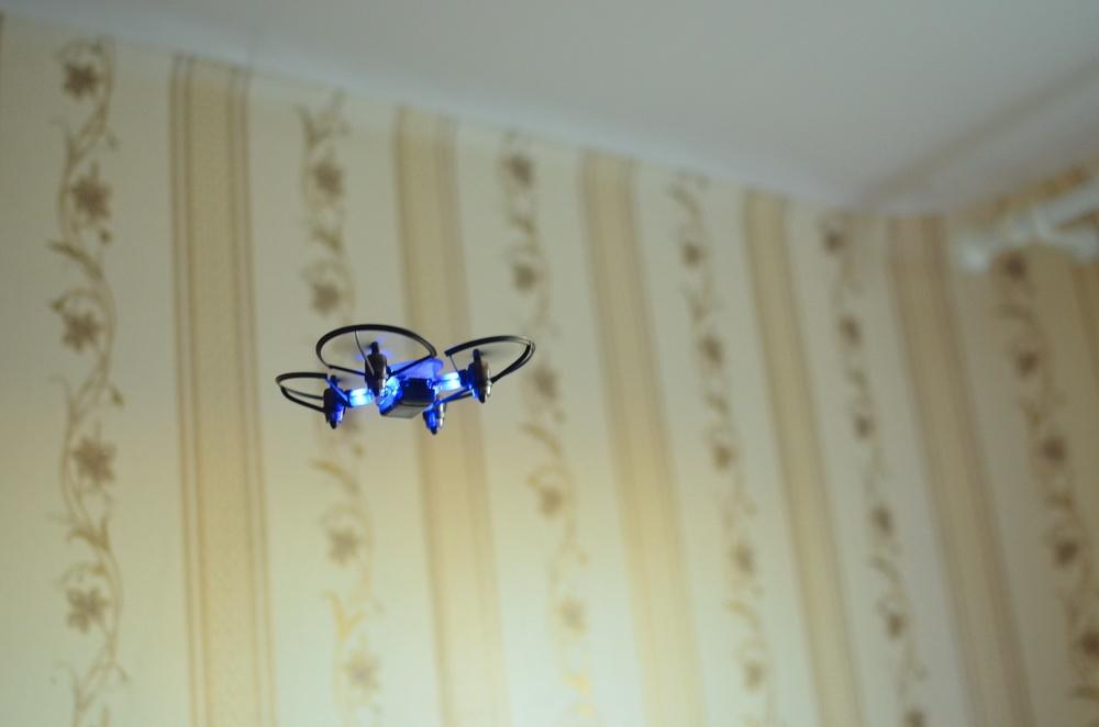 Южнокорейская революция на рынке мини-дронов. Обзор первого в мире боевого дрона — квадрокоптера Byrobot Drone Fighter - 22