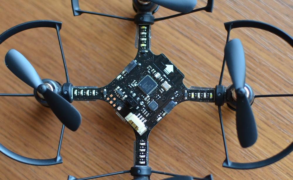 Южнокорейская революция на рынке мини-дронов. Обзор первого в мире боевого дрона — квадрокоптера Byrobot Drone Fighter - 24