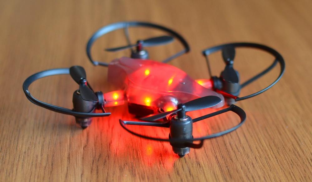 Южнокорейская революция на рынке мини-дронов. Обзор первого в мире боевого дрона — квадрокоптера Byrobot Drone Fighter - 25