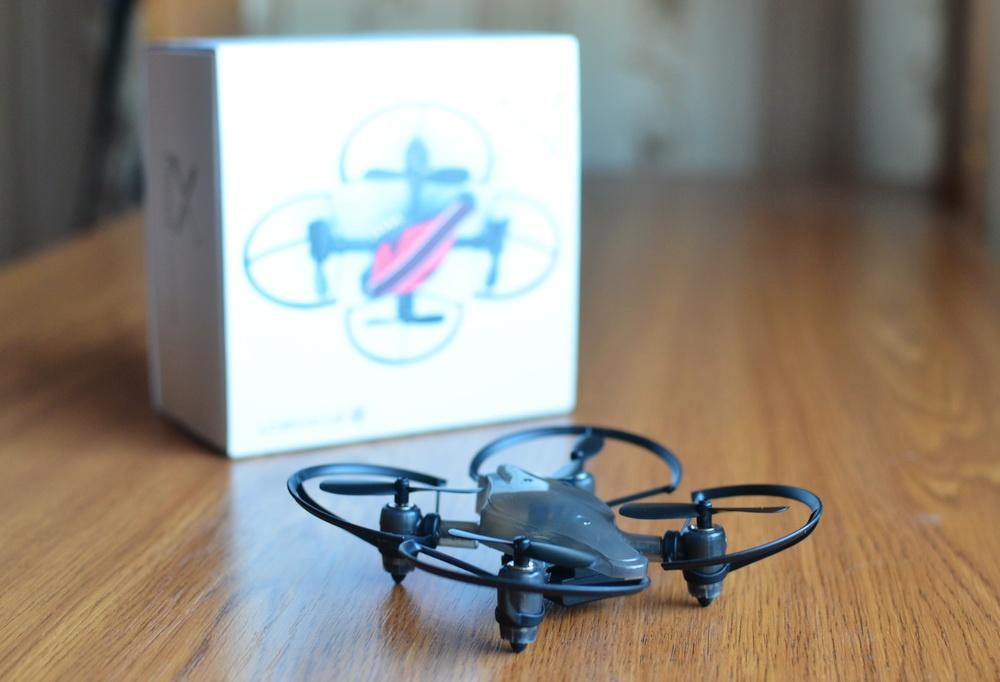 Южнокорейская революция на рынке мини-дронов. Обзор первого в мире боевого дрона — квадрокоптера Byrobot Drone Fighter - 1
