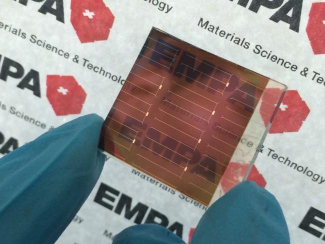 Двуслойные полупрозрачные фотоэлементы с плёнкой из перовскита - 2