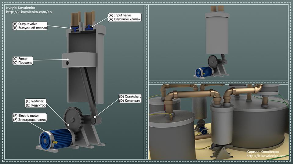 Персональный водородный накопитель (концепт) - 4