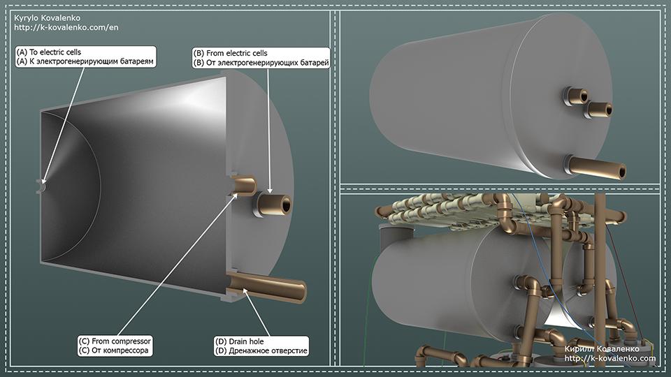 Персональный водородный накопитель (концепт) - 6