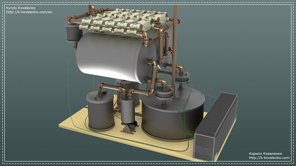 Персональный водородный накопитель (концепт) - 1