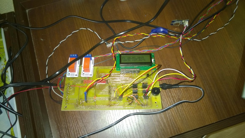 Система автоматического управления аквариумом на Arduino - 9