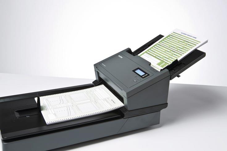 Сканеры Brother PDS-5000F и PDS-6000F оборудованы устройством двусторонней автоматической подачи документов