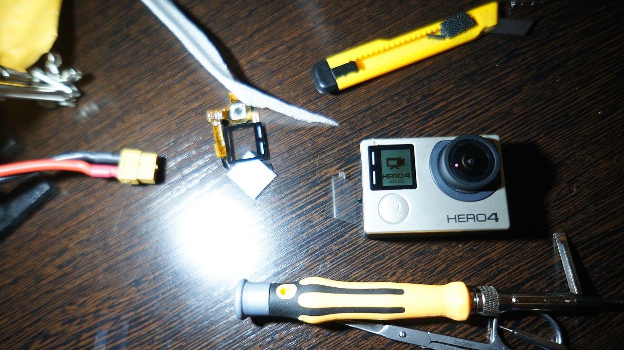 Замена переднего LCD дисплея GoPro 4 black - 10