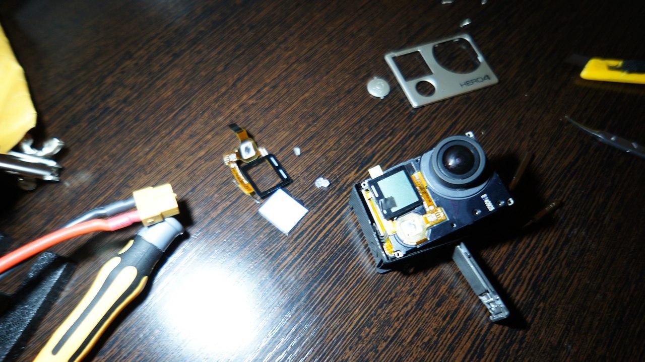 Замена переднего LCD дисплея GoPro 4 black - 9