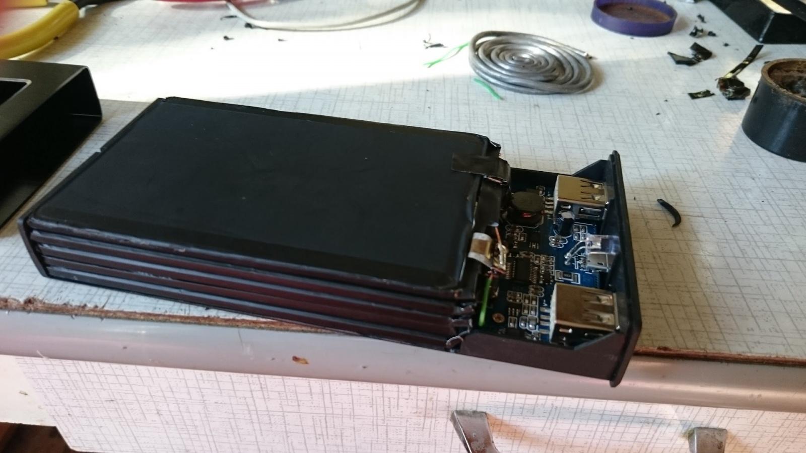 DIY PowerBank на 17000 честных миллиампер-часов - 5