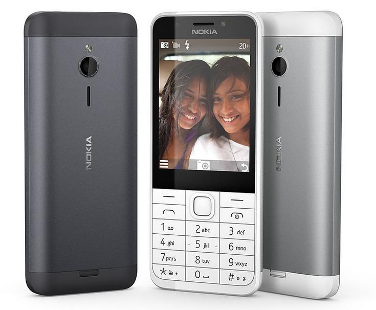Microsoft представила телефон Nokia 230