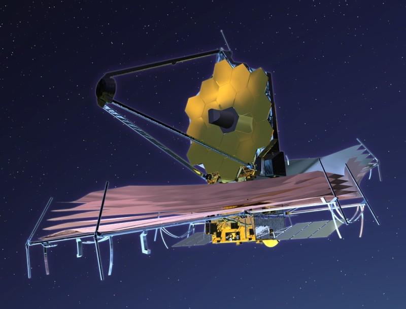 На телескоп им. Джеймса Уэбба установили первый сегмент зеркала - 3