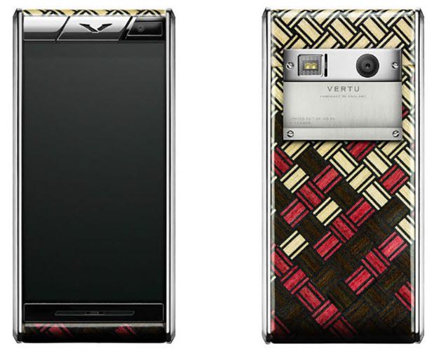 Смартфон Vertu Aster Yosegi Wood в деревянном корпусе будет выпущен тиражом в 50 экземпляров