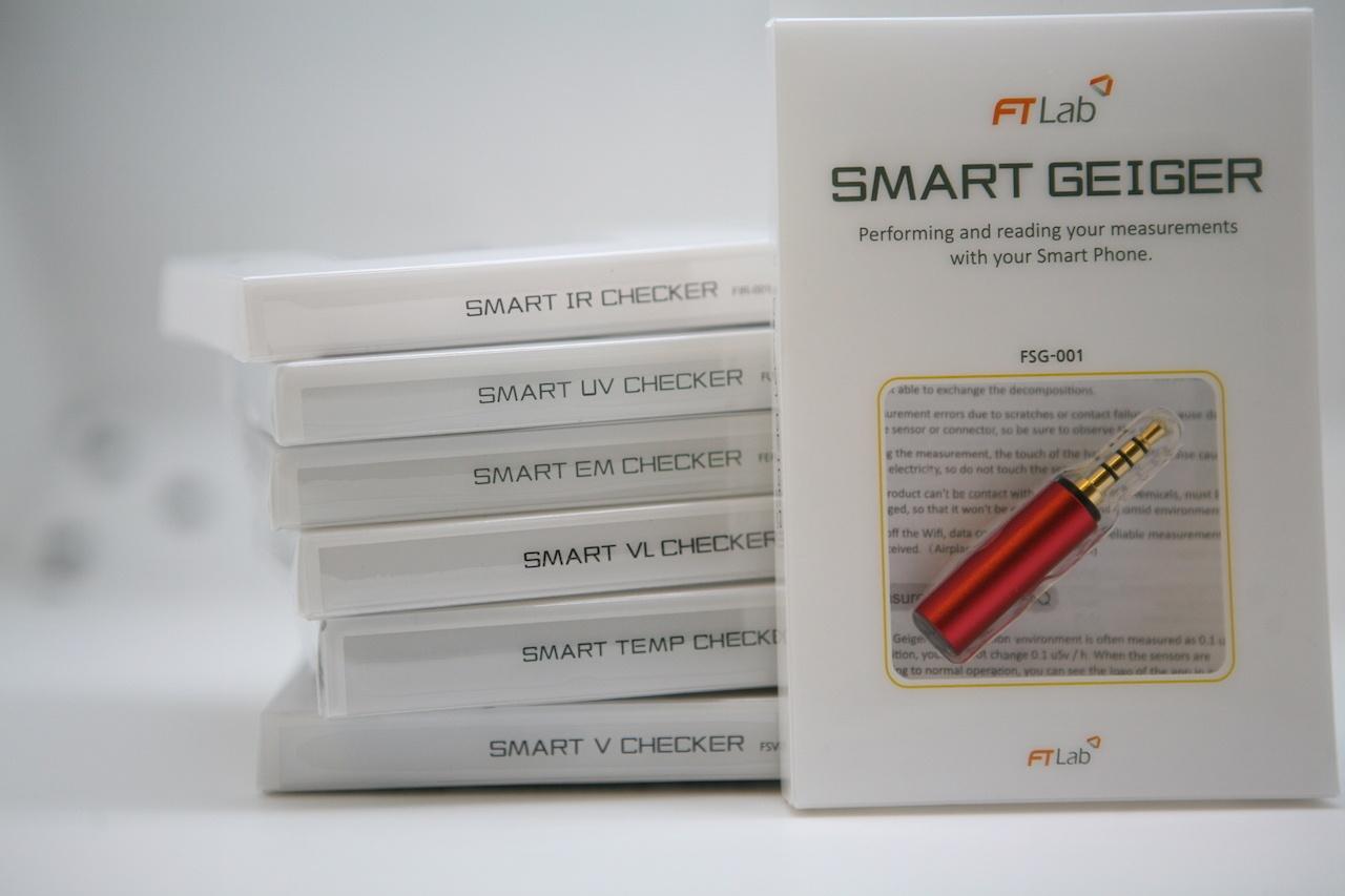 Smart Geiger — миниатюрный «датчик Гейгера» в смартфоне: коллекция насадок от FT Lab - 3