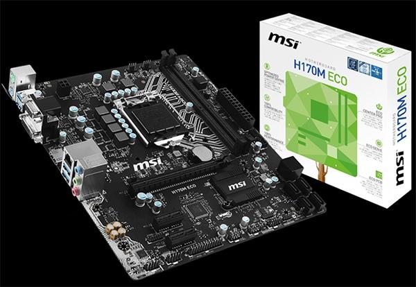 MSI H170M Eco