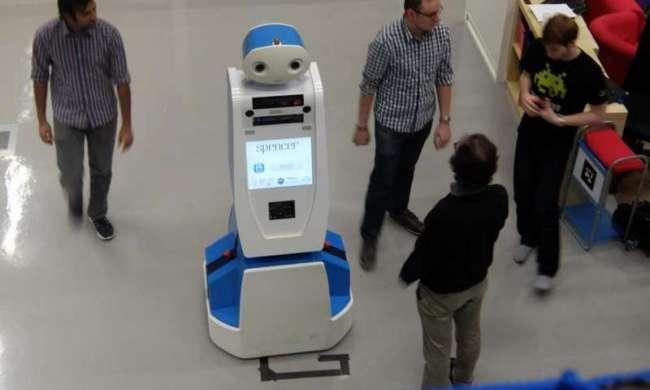 Робот Spencer будет помогать жителям и гостям Амстердама в аэропорту Схипхол