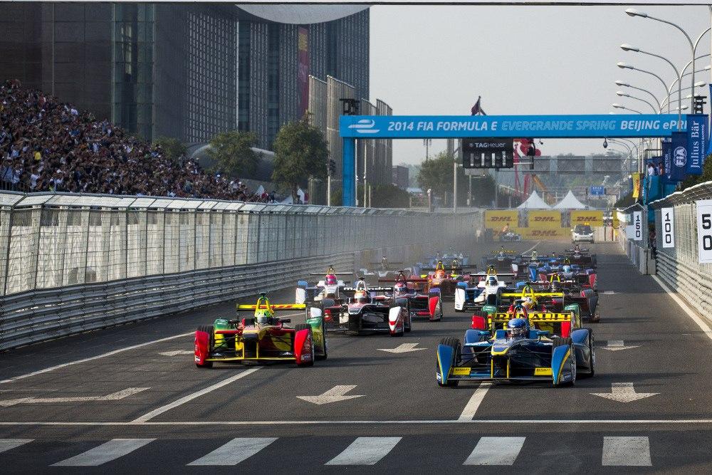 Formula E on Beijing
