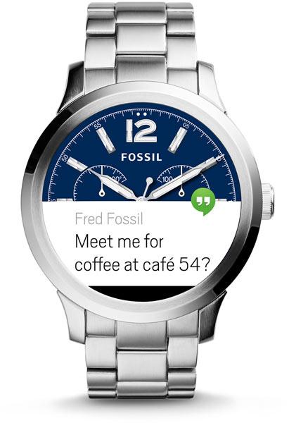 Степень защиты Fossil Q Founder — IP67