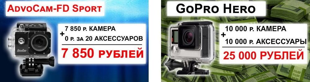 Китайская копия или оригинальный продукт – ответ клеветникам: разбираемся подробно со спортивной камерой AdvoCam - 30