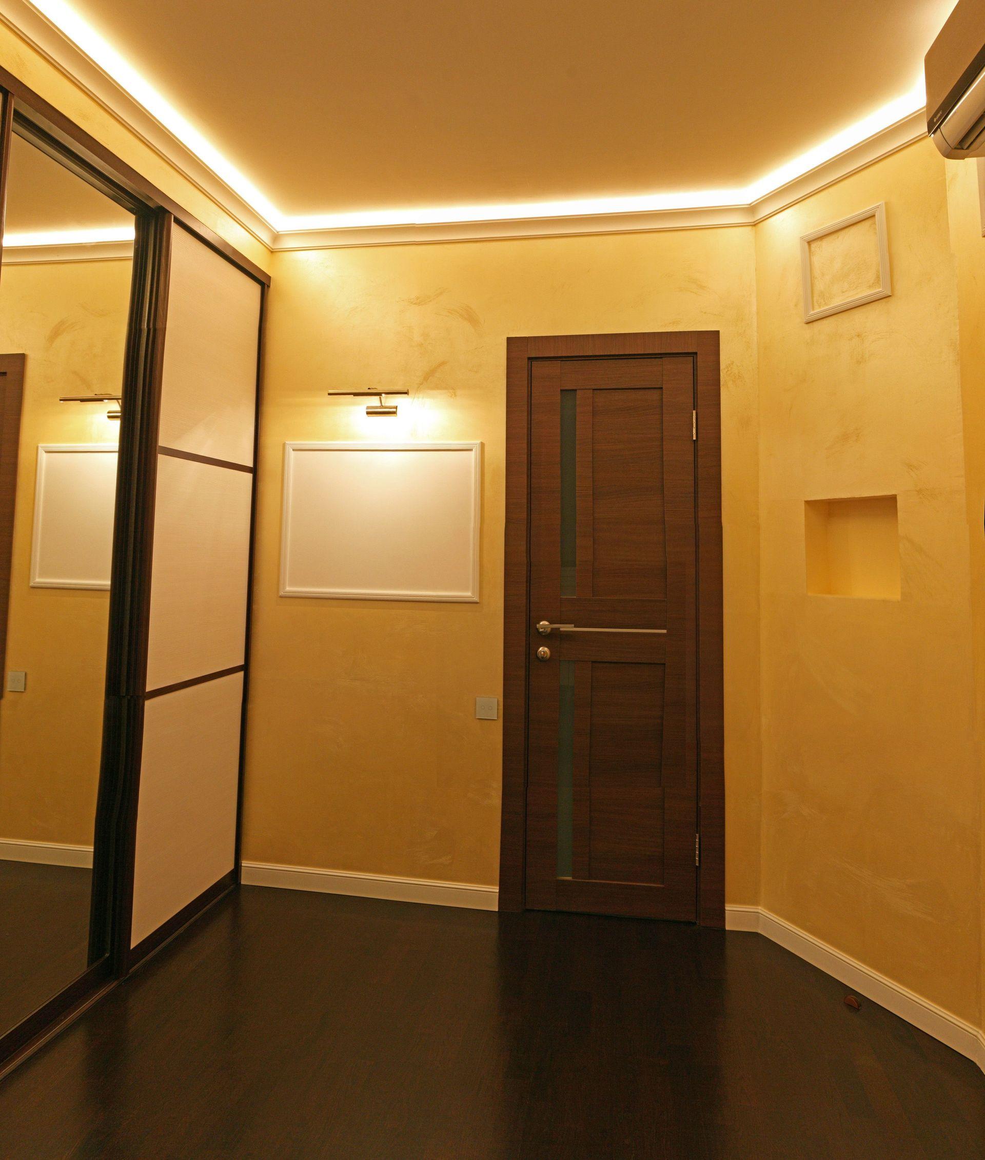 Практика освещения спальни светодиодными лентами - 10