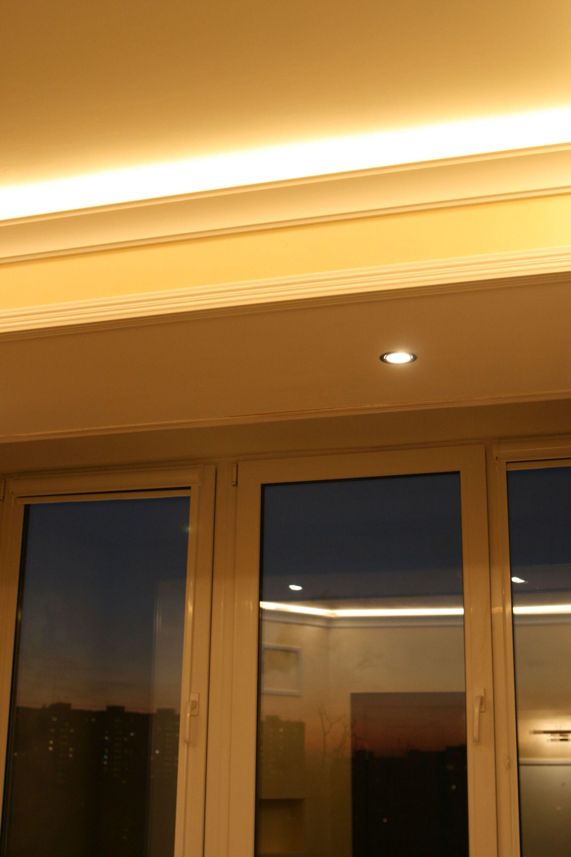 Практика освещения спальни светодиодными лентами - 9
