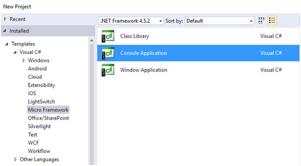Запуск .Net Micro Framework 4.4 на STM32F4Discovery - 28