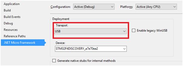 Запуск .Net Micro Framework 4.4 на STM32F4Discovery - 30