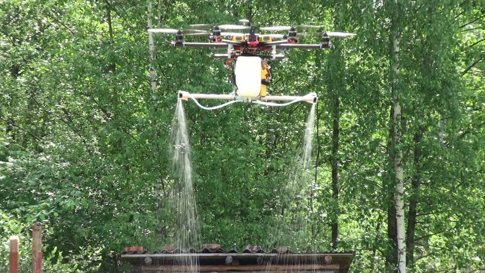 «Дрон для сельского хозяйства» или как защитить растения без особых усилий - 2