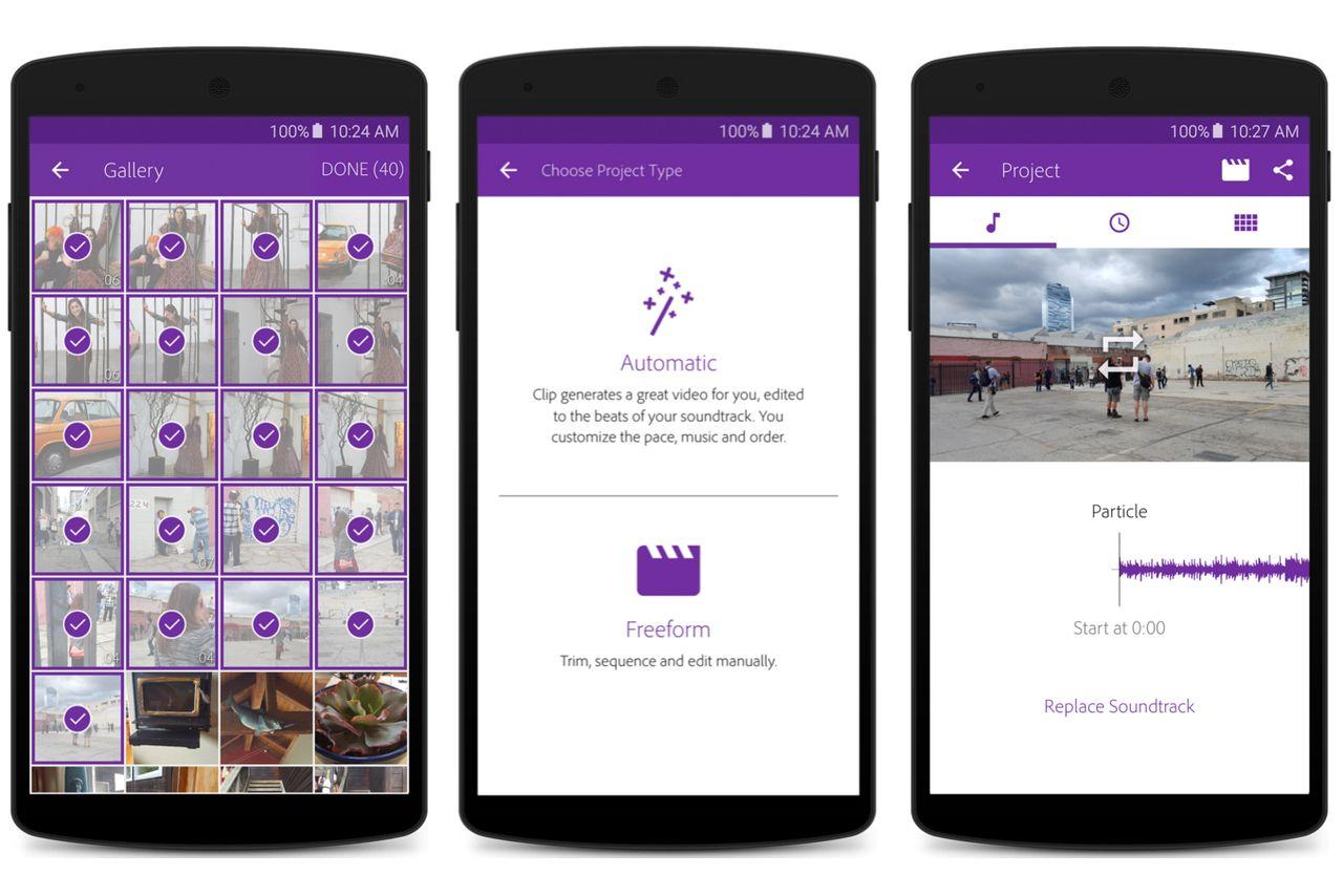 Компания Adobe представила свой первый видеоредактор для Android - 1